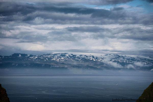 Blick zum Eyjafjallajökull