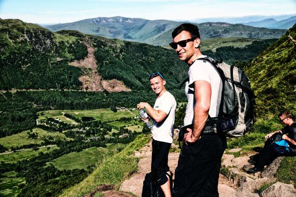Aufstieg zum Ben Nevis (1333 m) - 1325 Höhenmeter Aufstieg