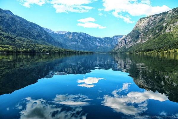 Paddeln auf dem Bohinjski Jezero