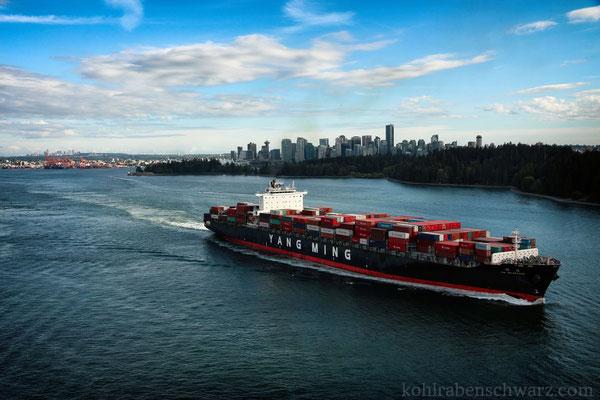 Blick nach Vancouver