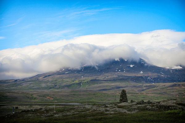 Landschaft bei Þingvellir