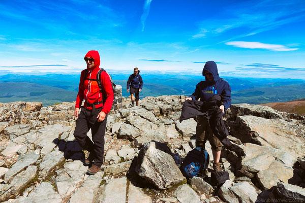 Gipfel des Ben Nevis