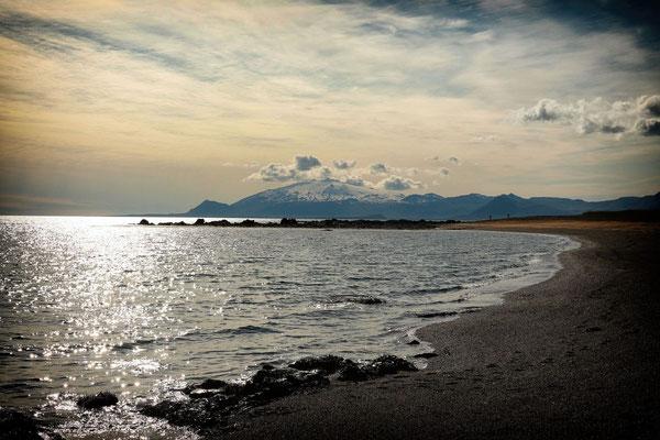 Blick zum Snaefellsjökull