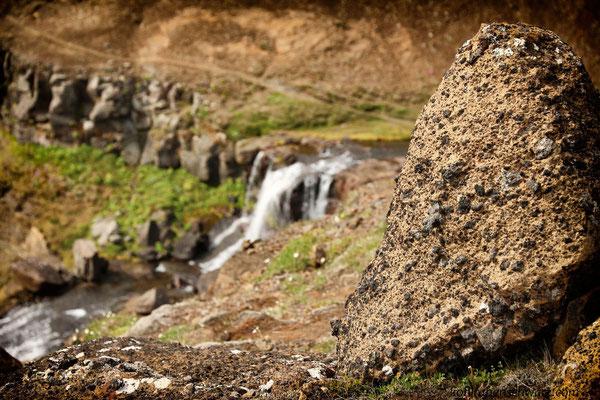 Glymur - Islands höchster Wasserfall (196 m)