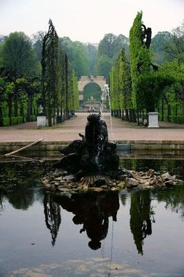 Schloss Schönbrunns Gartenanlage