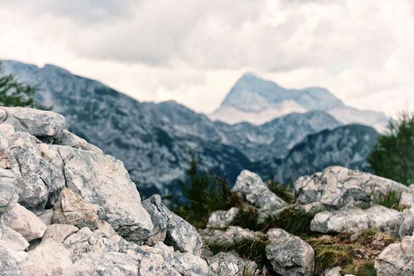 Ausblicke zum Triglav 2864 m