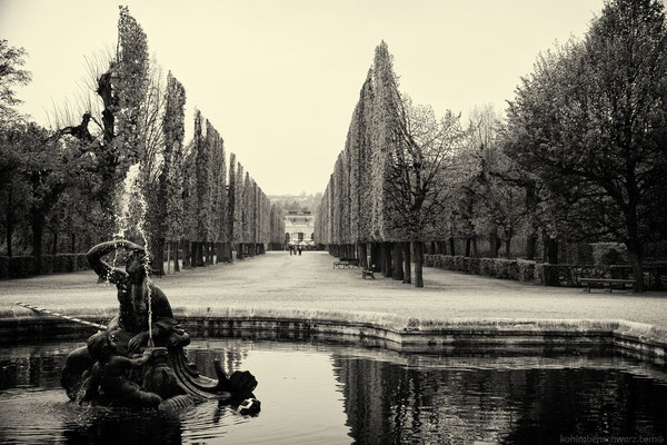 Gartenanlage Schloss Schönbrunn