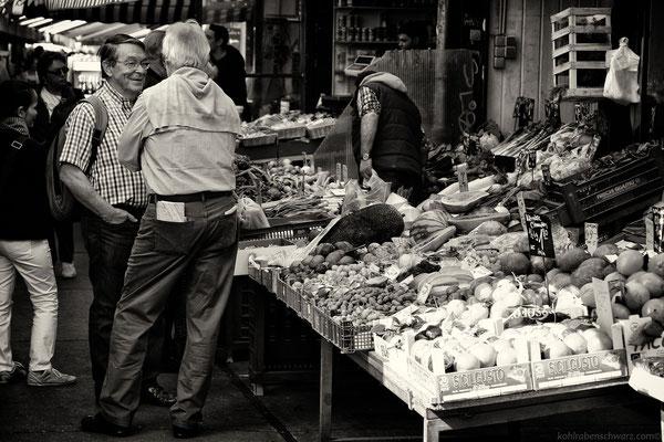 Impressionen des Wiener Naschmarkts