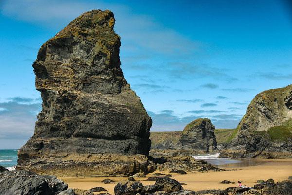 die Bedruthan Steps - Nordküste