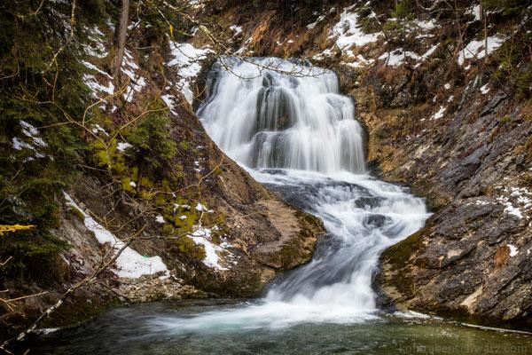 Wasserfall beim Obernachkanal
