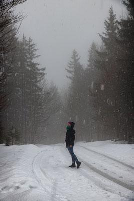 vom Regen zum Schnee...