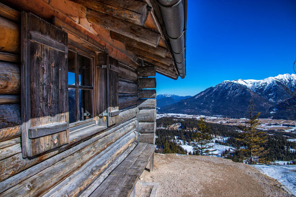 Die Kranzberg Gipfelhütte
