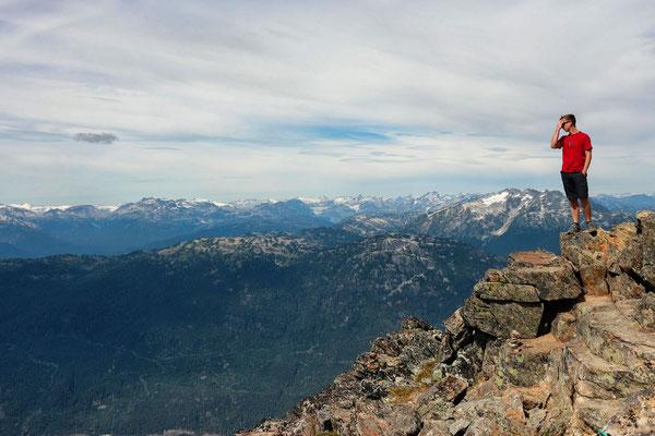 auf dem Whistler Mountain