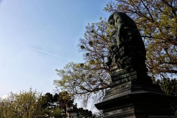 das Grabdenkmal Mozarts
