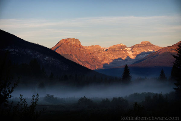 Morgenstimmung im Banff Nationalpark