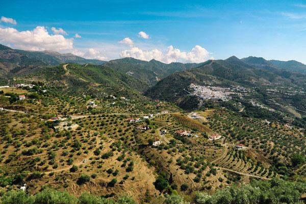 andalusische Dörfer