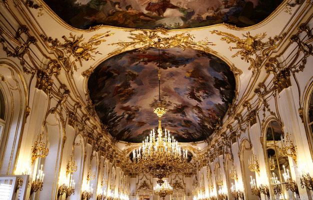 Saal im Schloss Schönbrunn