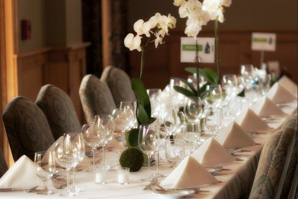 Wedding Dinner Setup