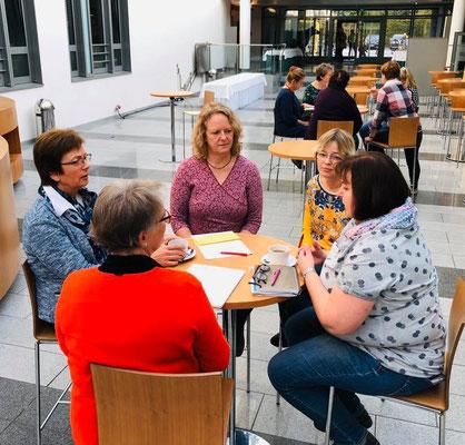 Gruppendiskussionen beim Ausschuss Agrarpolitik & Umwelt des Deutschen LandFrauenverbandes