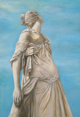 Lucretia, 2008,  100 x 70 cm, Öl auf Molino    300,-
