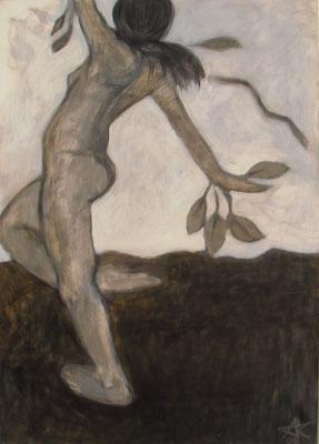 Daphne, 2009  120 x 85 cm, Acryl auf Molino, verk.