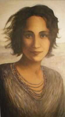 Georgette, 2013 *  60 x 50 cm, Acryl auf Molino, verk.
