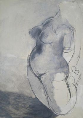 Aus Licht und Schatten, 2009 *  120 x 85 cm, Öl auf Molino, verk.