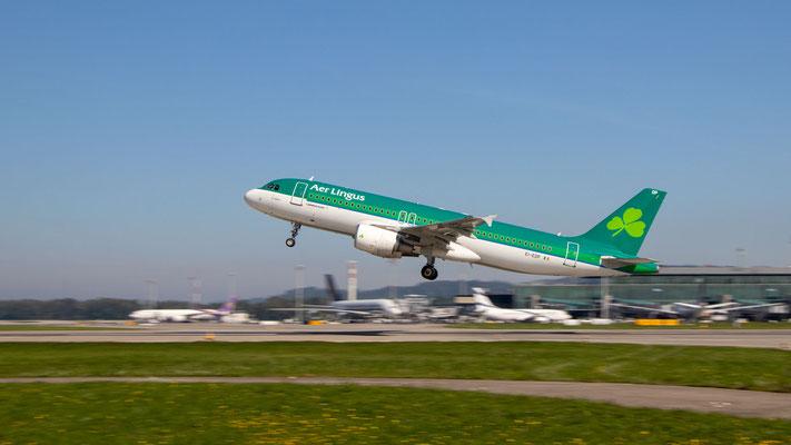 Aer Lingus – Airbus A320-214 – EI-EDP – 17.09.2018 – ISO100|29mm|f11|1/125s – Pistenkreuz Flughafen Zürich