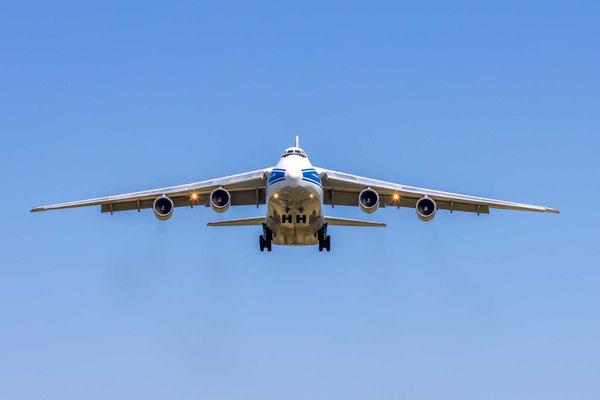Anflug auf Zürich - Antonov An-124-100 - RA-82078 - Volga-Dnepr Airlines - 1.6.2021