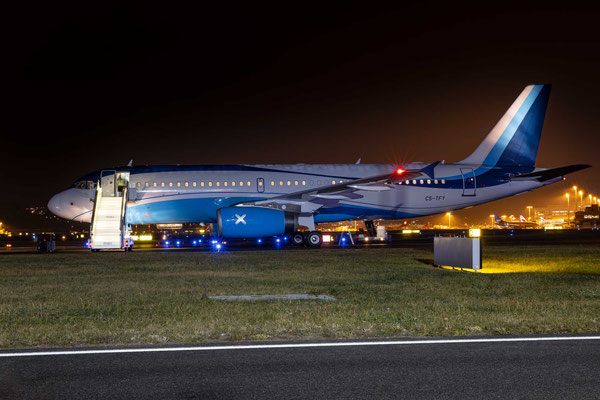 MasterJet – CS-TFY – Airbus A320-232 – WEF 2020 – 21.1.2020