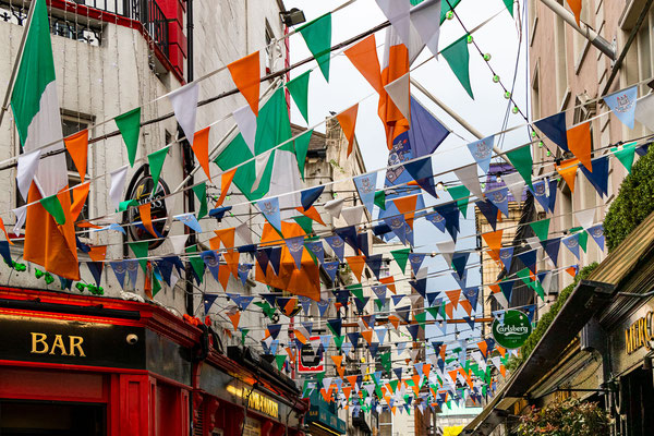 Dame Lane in the Temple Bar District