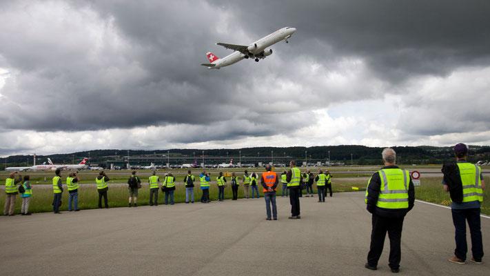 Spottertour auf dem Vorfeld des Flughafen Zürich – 03.06.2016