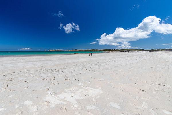 Pembroke Beach, eine wunderschöne Bucht, fast wie in der Karibik, wenn die Wassertemperatur etwas wärmer wäre.