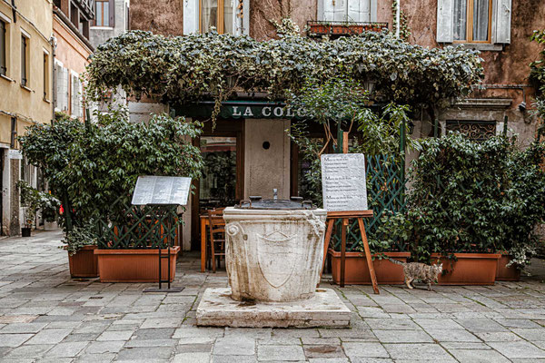 Pozzi alla veneziana - venezianische Brunnen
