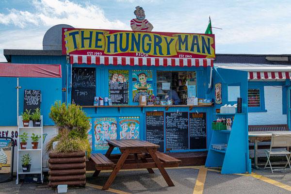 The Hungry Man Café, Rozel Bay, Trinity, Jersey