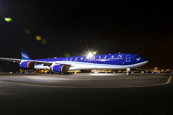 Azerbajan Airlines – Boeing-787-8 Dreamliner – WEF 2020 – 21.1.2020