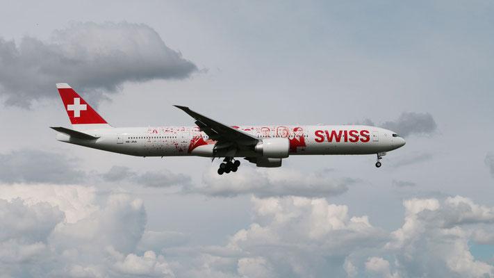 Swiss Boeing 777-300ER – HB-JNA – 01.06.2016