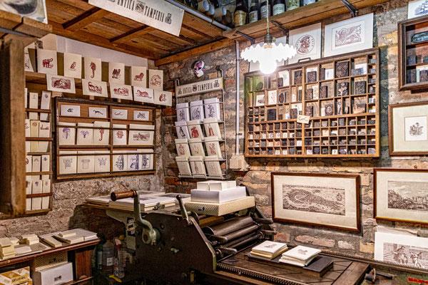 Die Visitenkartendruckerei Stamperia von Gianni Basso