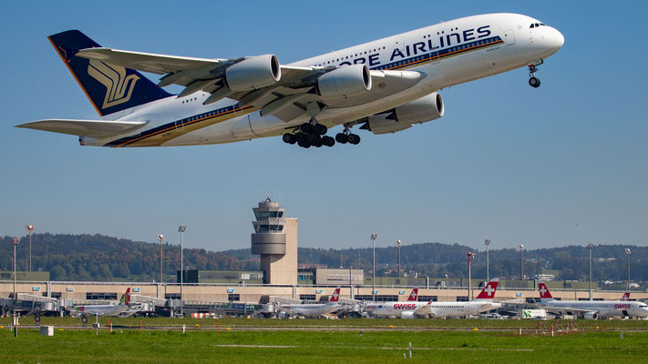 Singapore Airlines – Airbus A380-841 – 9V-SKU – 17.09.2018 – ISO100|70mm|f4|1/1600s