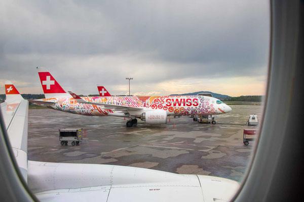 Swiss – Airbus A220-300 –HB-JCA – Fête des Vignerons 2019 - 2.5.2019