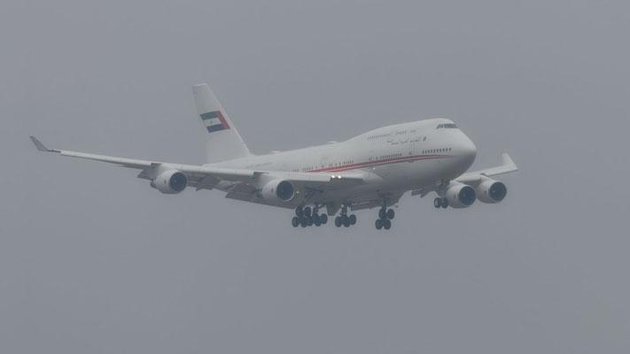 Dubai Air Wing – Boeing 747-422 – A6-HRM – WEF 2019 – 22.01.2019
