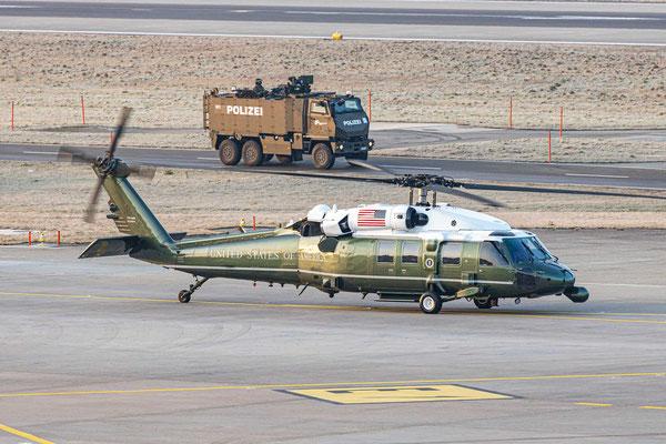 Helikopter Sikorsky VH-60N White Hawk – Marine One – WEF2020 – 21.1.2020
