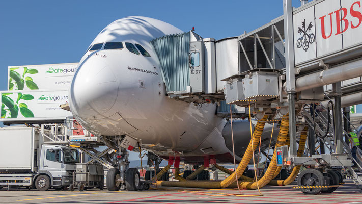 Boxenstop Emirates Airbus A380-861 – A6-EEJ – 17.09.2018