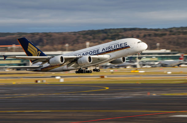 Singapore Airlines – Airbus A380-841 – 9V-SKR – Standort: Helligrill – 31.12.2017
