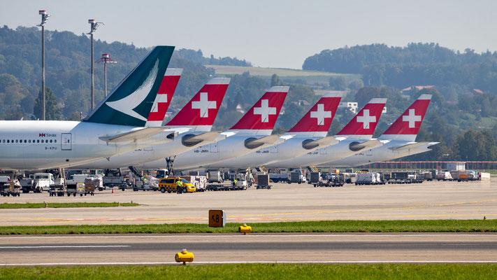 Flughafen Zürich – 17.09.2018