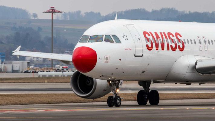 TheRedNose– Swiss HB-IJI – A320 – 23.02.2019