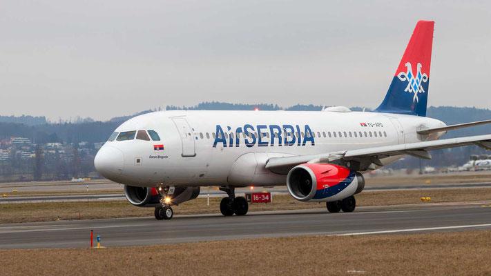 Air Serbia – YU-APD – 23.02.2019