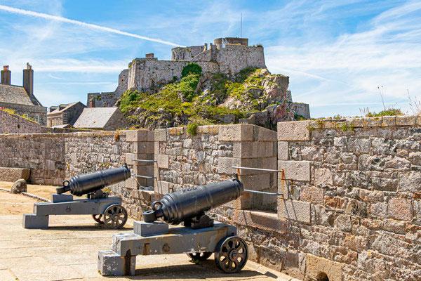 Grand Battery im Elizabeth Castle, St. Helier