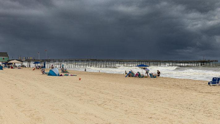 Draussen im Atlantic wütete gerade ein Sturmtief