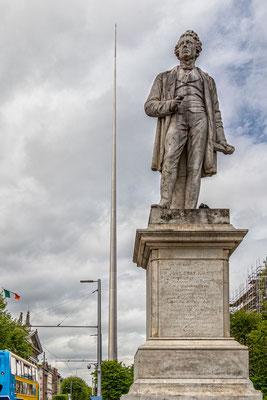 Die Statue von Sir John Gray